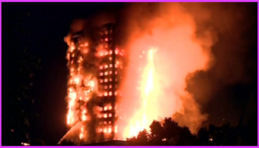 On 14 June, 2017 a fire sweeping through a highrise apartment building in west London, England, has left 17 people dead, and more than 50 have been taken to area hospitals.