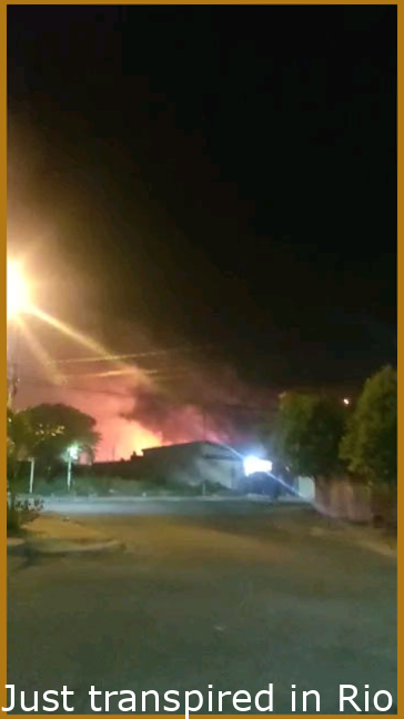 Just happened in Rio Claro, Brazil: Gas station exploded while being stocked. Number of dead and injured still unknown.