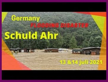 Unfolding timeline of events German flood wipes out vacation village 7/13-7/14/21