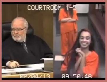 Girl Doesn't Take Her Court Hearing Seriously And Antagonizes Judge